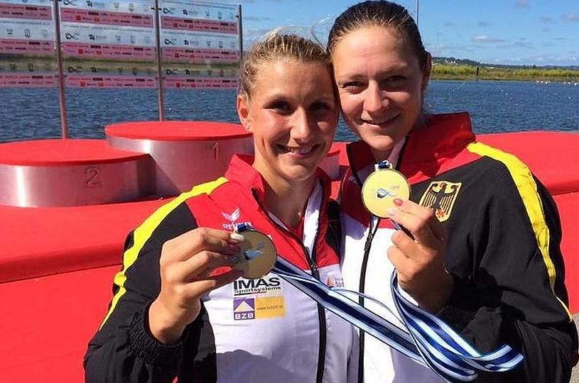 Gold für Damen-K2 bei der WM