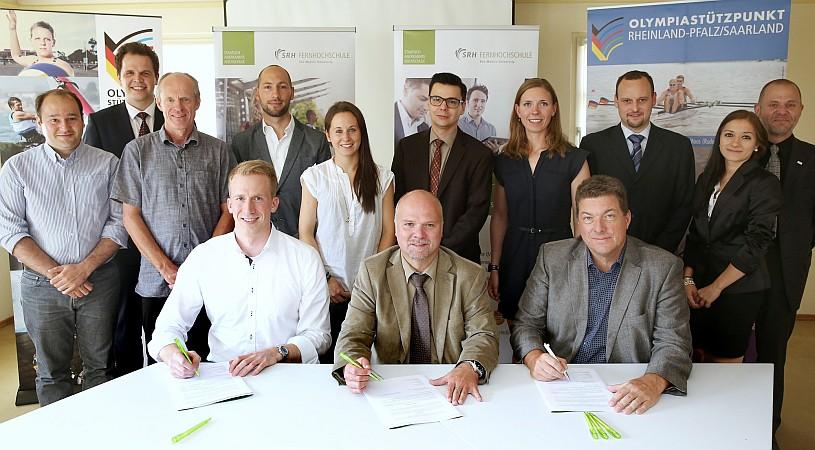 """SRH Fernhochschule ist neue """"Partnerhochschule des Spitzensports"""""""