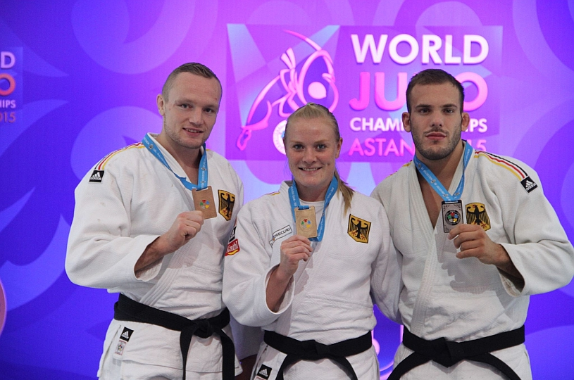 Judo-WM in Astana vorbei
