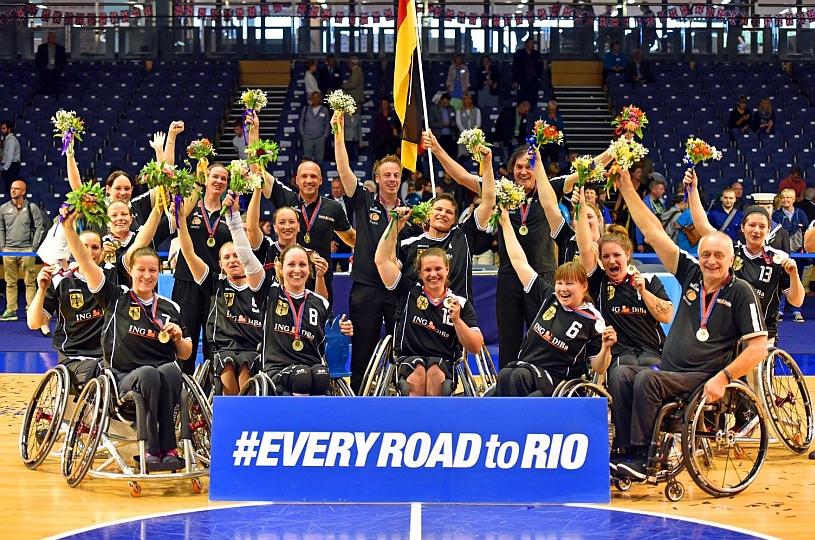 Europameistertitel für die deutschen Rollstuhlbasketballerinnen, Herren gewinnen Bronze