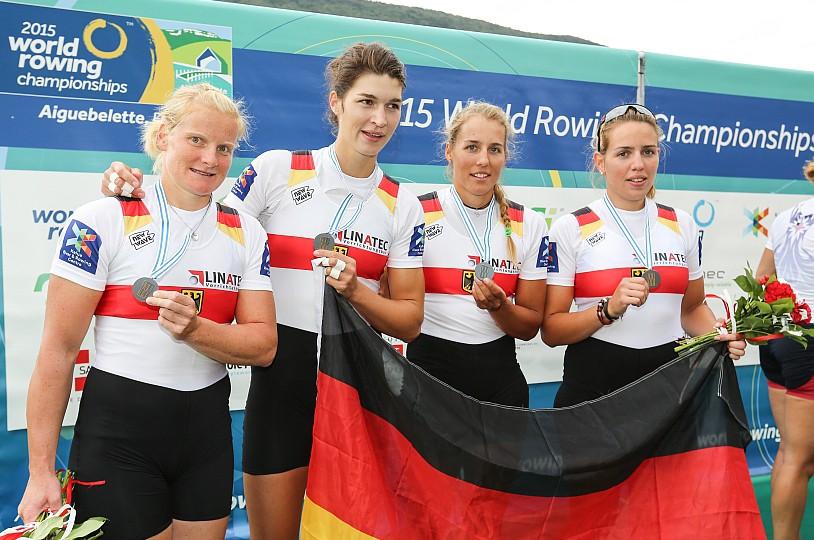 Marie-Cathérine Arnold holt WM-Silber