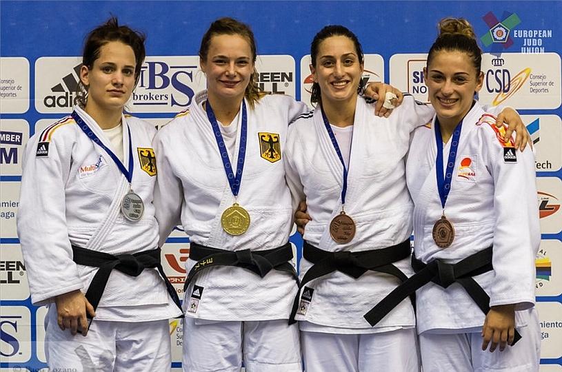 Vivian Herrmann holt Gold in Malaga