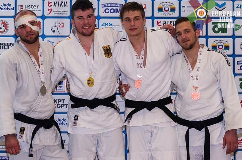 3 Medaillen für Judoka beim European Cup in der Schweiz