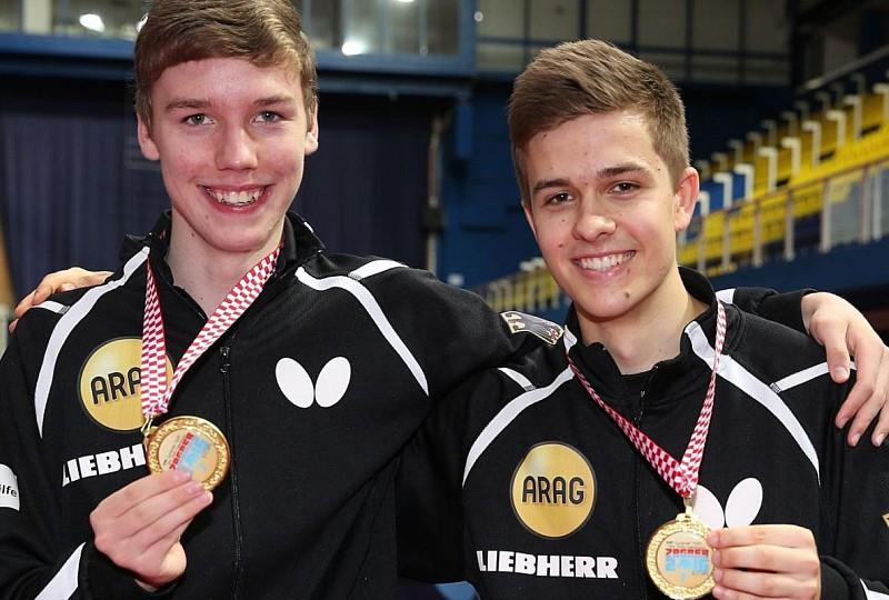 Hippler und Hohmeier Jugend-Europameister im Doppel