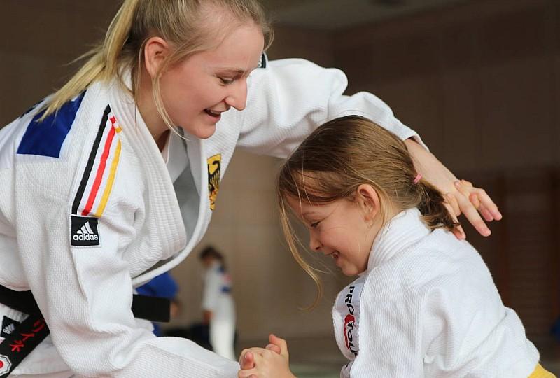 Begeisterte Ippon Girls und Boys in Hannover