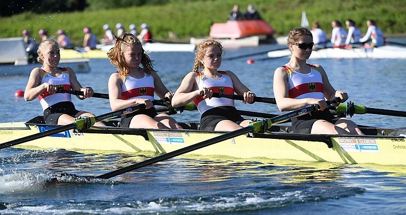 3x Silber für Niedersachsen bei den Junioren-Europameisterschaften im Rudern