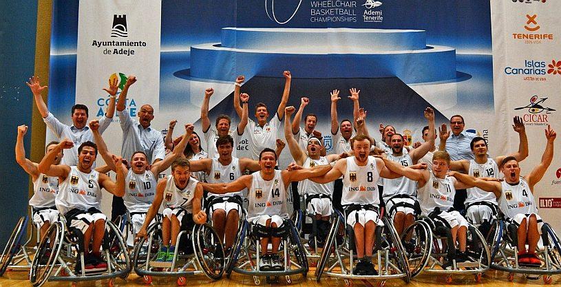Deutsche Rollstuhlbasketballer holen Silber und Bronze bei der EM