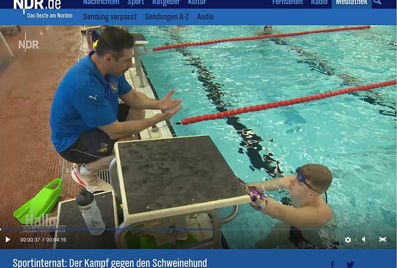 """""""Hallo Niedersachsen"""" beim Sportinternat"""