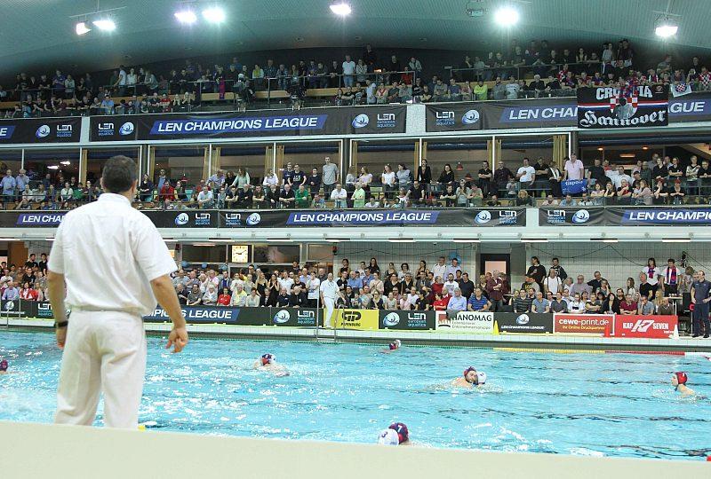 Championsleague-Finale Wasserball Final Eight – Betreuer gesucht